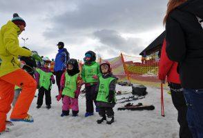 ferie rodzinne trening narciarski dla eskimoska