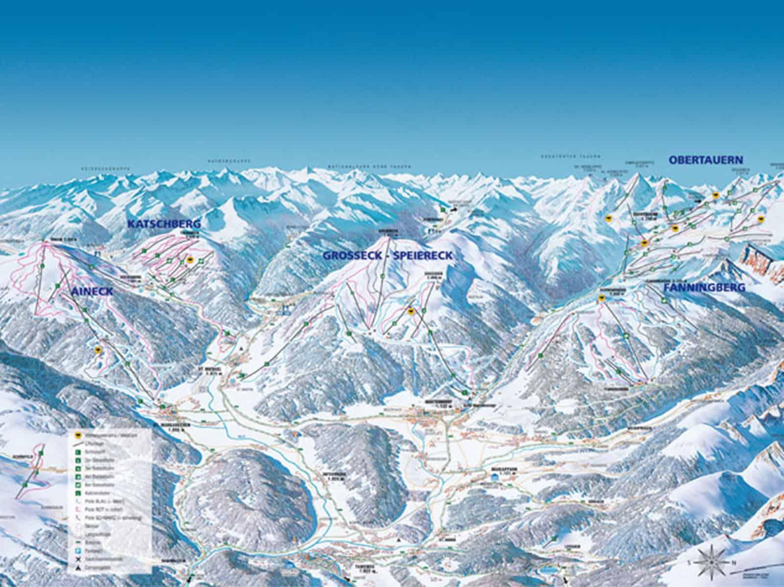 mapa-trasy-narciarskie-Lungau