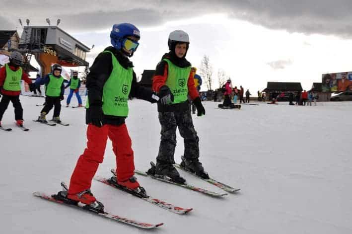 ferie zimowe obóz narciarski bukowina tatrzańska