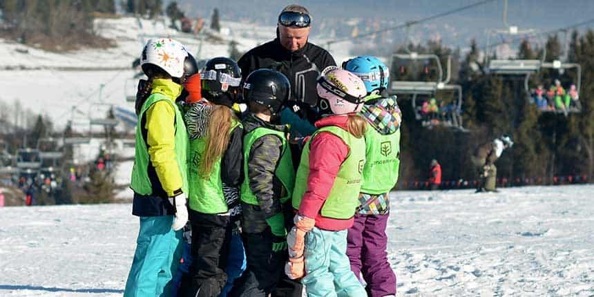 ferie zimowe na nartach