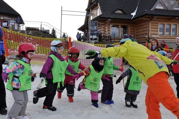 rodzinne ferie zimowe Bukowina tatrzańska