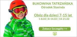 Stasinda-obóz narciarski dla dzieci