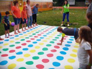 rodzinna gra na obozie w Mikoszewie
