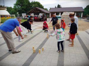 rodzinne potyczki na obozie w Mikoszewie